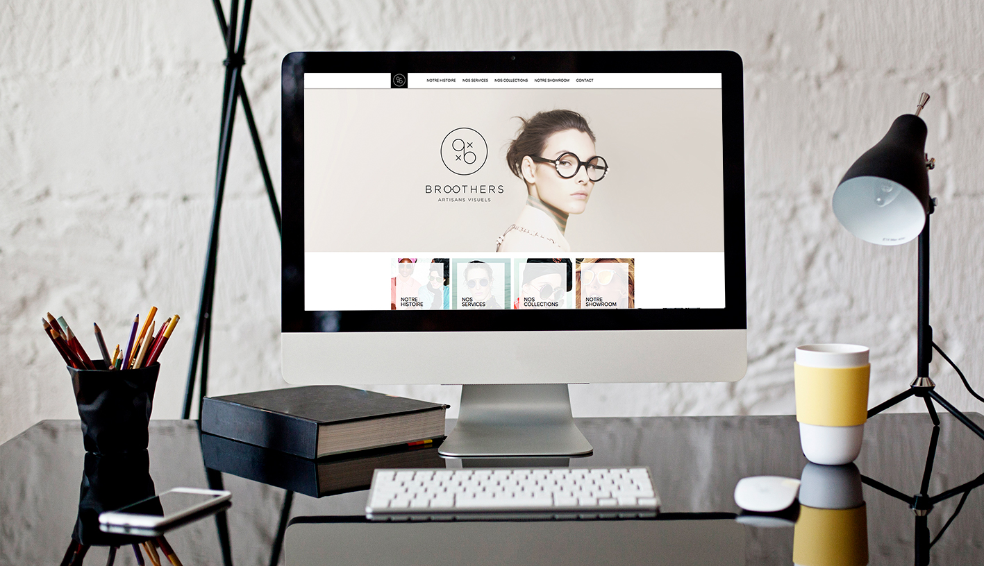 graphisme site web les broothers